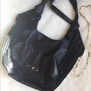 Elliot Lucca  hobo leather handbag